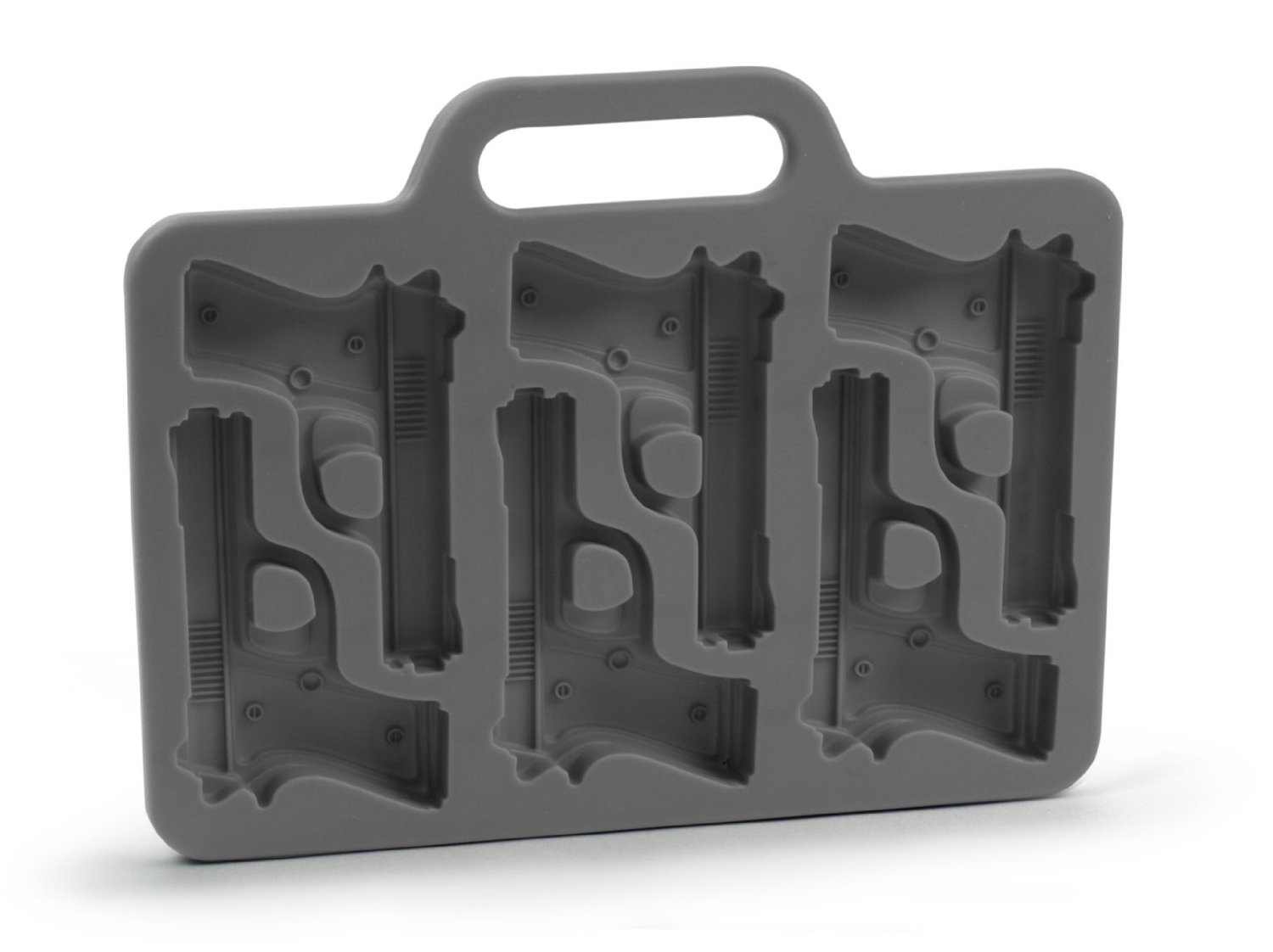 Gun Shaped Ice Cube Tray