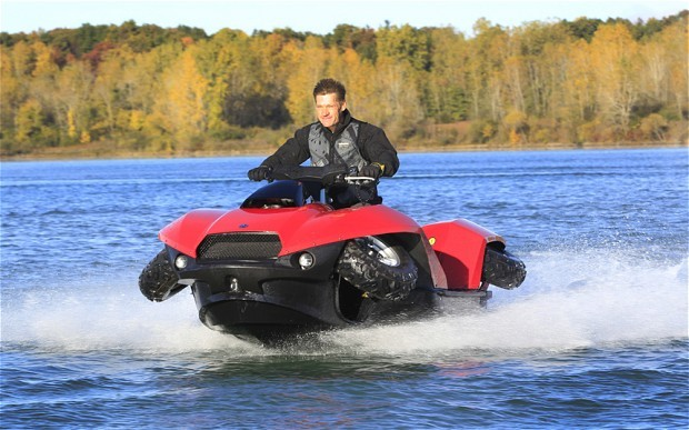Quadski Land And Water Amphibious Recreational Vehicle