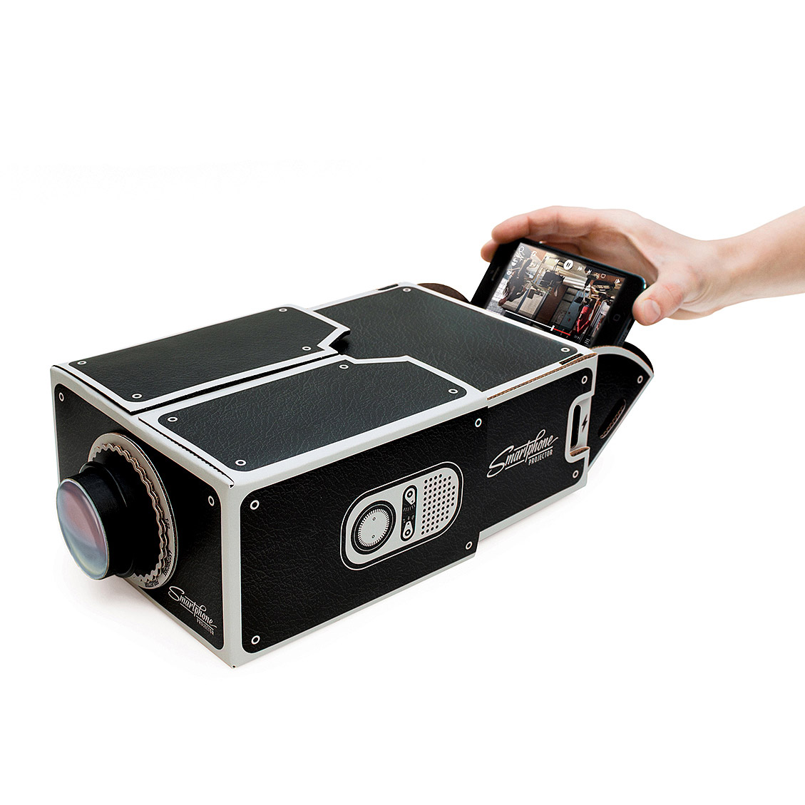 Turn Your Smartphone Into A Movie Projector