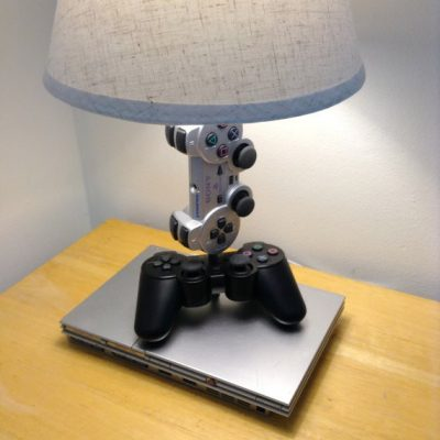 Playstation Console and Controller Desk Lamp