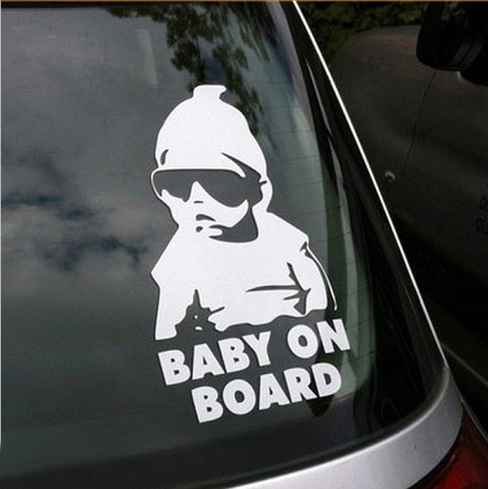"Carlos From Hangover ""Baby On Board"" Vinyl Car Window Decal"