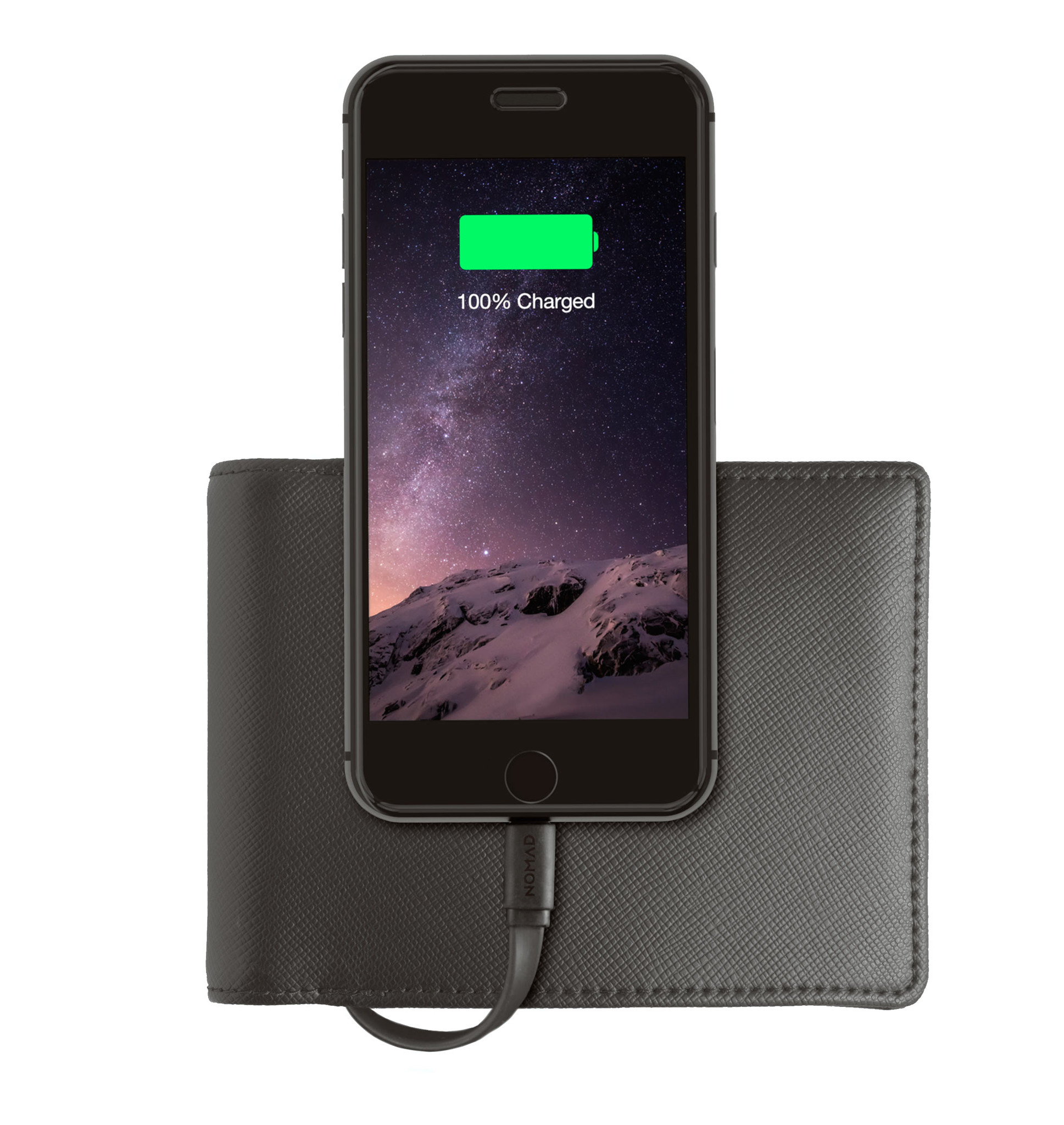 iPhone Charging Wallet