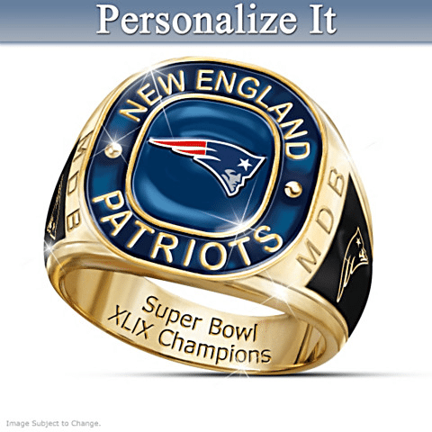 Personalized NFL Superbowl Ring