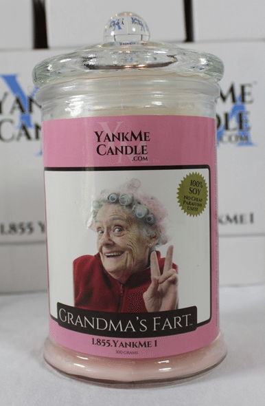 Funny Parody Scented Candles
