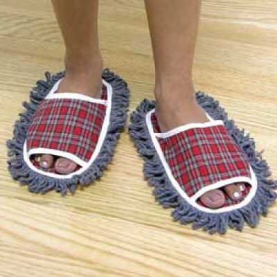 Dust Mopping Slippers
