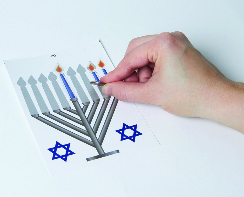 Scratch Menorah
