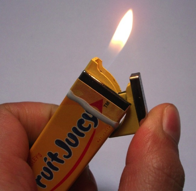 Chewing Gum Lighter