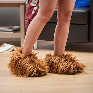 Fuzzy Star Wars Chewbacca Slippers