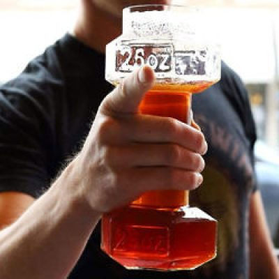 Dumbell Beer Glass