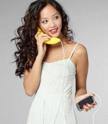 The Banana Cellular Phone Handset