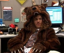 The Bear Coat From Workaholics