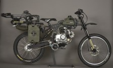 Zombie Apocalypse Survival Moped