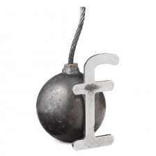 """""""F Bomb"""" Paperweight"""