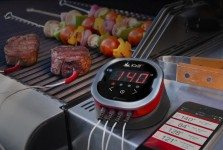 Bluetooth Wireless Grill Temperature Gauge For Smartphones