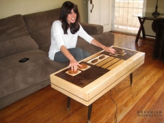 Functioning Giant Nintendo Controller Coffee Table