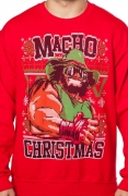 "Randy ""Macho Man"" Savage Ugly Christmas Sweater"