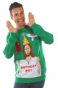 Ugly Christmas Sweater – Jesus Birthday Boy