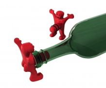 Mr. Perky Wine Bottle Stopper