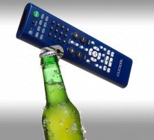 2 in 1 Universal Remote Control and Bottle Opener
